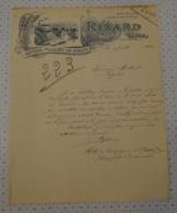 Minoterie, Grands Moulins Rizard à Gibles En Saone Et Loire (dept 71) - 1900 – 1949
