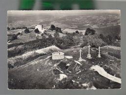 CP (58) En Avion Au Dessus De ...  Château-Chinon  -  Calvaire Et Poste Météorologiste - Chateau Chinon