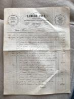 Quincaillerie En Tous Genre - Luneau Fils Serrurier - Saint-Fargeau 1852 - 1800 – 1899