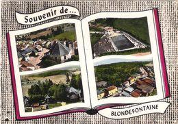 CPSM. 70 BLONDEFONTAINE. LIVRE SOUVENIR 4 VUES. - Autres Communes