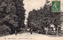 B68903 Cpa Montargis - Entrée De La Foret - Montargis