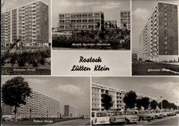 ! DDR Ansichtskarte Rostock Lütten Klein, Plattenbauten - Rostock