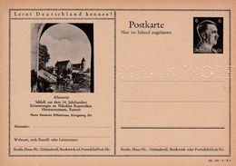 Carte Entier Postal Ganzsache Postkarte Druckprobe Allenstein - Enteros Postales