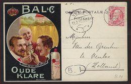 PERFIN Nr. 74 Op Postkaart Van ANTWERPEN - BAL And Co. - Oude Klare Verzonden Te MERXEM Naar VENLO NEDERLAND  ! - 1905 Barbas Largas