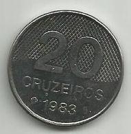 Brazil 20 Cruzeiros 1983. - Brasilien