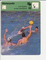 Waterpolo En Photo JO Munich 1972 Pays-Bas Vs Autriche Water Polo Sport 1FICH-DIV5 - Sports