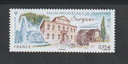 TIMBRE - 2018 - N° 5210  -  Salon Philatélique De Printemps à Sorgues   -  Neuf Sans Charnière - Unused Stamps