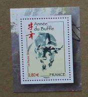 T5-F4 : Année Lunaire Chinoise Du Buffle - Ungebraucht