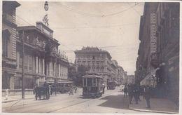 ROMA - VIA NAZIONALE - PALAZZO DELLE BELLE ARTI - FILOBUS / TRAM IN PRIMO PIANO - BELLA ANIMAZIONE - 1926 - Expositions
