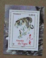 T5-F4 : Année Lunaire Chinoise Du Tigre - Unused Stamps