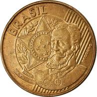 Monnaie, Brésil, 25 Centavos, 2011, TTB, Bronze Plated Steel, KM:650 - Brasilien