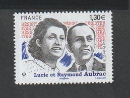 TIMBRE - 2018 - N° 5219  - Personnalité , Lucie Et Raymond Aubrac   - Neuf Sans Charnière - Unused Stamps