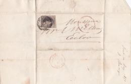 Courrier 1851 - Belgio