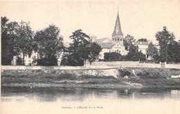 CHATOU - L'Eglise Et Le Quai - Chatou