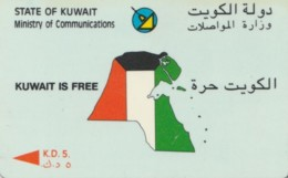 PHONE CARD KUWAIT (E61.18.7 - Koweït
