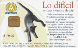 PHONE CARD CUBA (E61.4.8 - Cuba