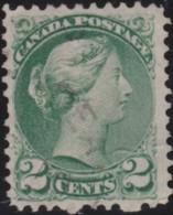 Canada  .  SG   .   94   .  11½x12         .    O      .   Cancelled.   /   .  Oblitéré - 1851-1902 Reign Of Victoria