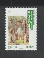 TIMBRE - 2018 - N° 5242  - Architecture Religieuse ,Abbaye De Trois Fontaines     - Neuf Sans Charnière - Unused Stamps