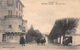 MANTES SUR SEINE - Quai De La Tour - Inondation 1910 - Otros Municipios