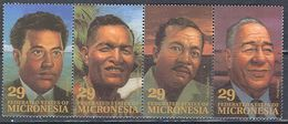 M2334 ✅ Politicians Prime Ministers 1993 Micronesia 4v Set Strip MNH ** 1.16US $ - Micronesia