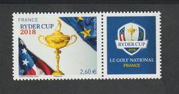 TIMBRE - 2018 - N° 5245 A   - Sport Golf Ryder Cup - Neuf Sans Charnière - - France