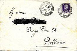 Uff. Concentramento Bologna Sur Lettre Vers Bellano 1941 - 1900-44 Victor Emmanuel III