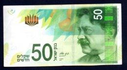 Banconota Israele 50 New Shekels 2014 - Israel