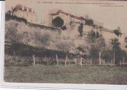 (58) DECIZE . Ruines Du Vieux Château (côté Sud) Et Presbytère - Decize
