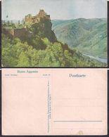 Österreich - Postkarte - Melk - Ruine Aggstein - Panorama - Circa 1930 - Non Circulee - Cygnus - Melk