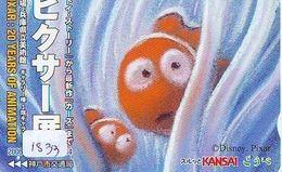 RARE * Carte Prépayée Japon * DISNEY * PIXAR   (1833)  ANIME Japan Prepaid Card - Disney