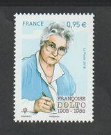 TIMBRE - 2018 - N° 5268   -  Personnalité  ,  Françoise Dolto   - Neuf Sans Charnière - - France