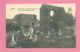 C.P. Diest = Puinen  Der Sint-Jans-Kerk - Diest