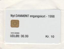Denmark, DT017, Danmont  Nyt Engangskort 1998 10 Kr., Mint In Blister, 2 Scans - Denmark