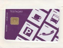 Denmark, DT018, Danmont, Testkort 1998 Lilla, Mint In Blister, 2 Scans - Denmark