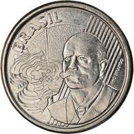 Monnaie, Brésil, 50 Centavos, 2010, TTB, Stainless Steel, KM:651a - Brasilien
