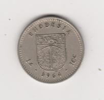 1 SHILLING 1964 ELISABETH II - Rhodesia