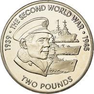 Monnaie, Océan Indien Britannique, 2 Pounds, 2019, 2ème Guerre Mondiale - - Colonias