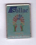 R154 Pin's Médecine SOLLAC Greffe De Moelle France Achat Immédiat - Medical