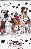 Télécarte Japon * 110-212601 * DISNEY * 101 DALMATIENS (6486) DALMATIANS  CHIEN DOG Japan Movie CINEMA Phonecard - Disney
