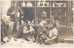 21 ARNAY-le-DUC - Commerce D'antiquité - Carte-photo - Arnay Le Duc