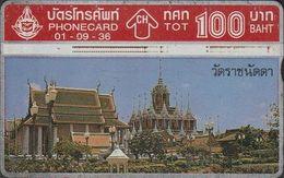 373/ Thailand; P66. Wat Rajnadda, 307E - Thaïlande