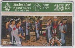 374/ Thailand; P67. Thai Cultural Dance 1, 327A - Thaïlande
