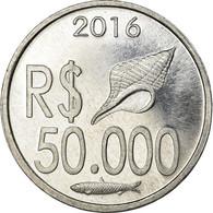 Monnaie, CABINDA, 50.000 Reais, 2016, SPL, Aluminium - Angola