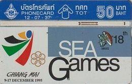 378/ Thailand; P121. Sea Games 2, CN 406F - Thaïlande