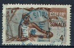 French Somali Coast, 4f, Somali Woman, 1947, VFU - Oblitérés