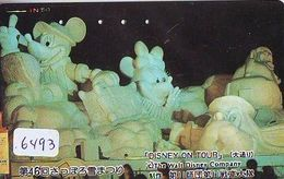 RARE * Télécarte Japon * 110-153146 * DISNEY (6493) DISNEY ON TOUR * JAPAN  Phonecard - Disney