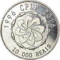 Monnaie, CABINDA, 10000 Reais, 2016, CPLP, SPL, Aluminium - Angola