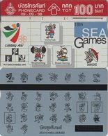 388/ Thailand; P191. Sea Games 6, 546H - Tailandia