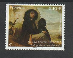 TIMBRE - 2019 - N° 5333 -Série Artistique , Gustave Courbet   -   Neuf Sans Charnière - - Färöer Inseln