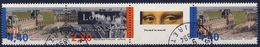 2852A DIPTYQUE Du LOUVRE NON COMPLET OBLITERATION CACHETS RONDS ANNEE 1993 - Francia